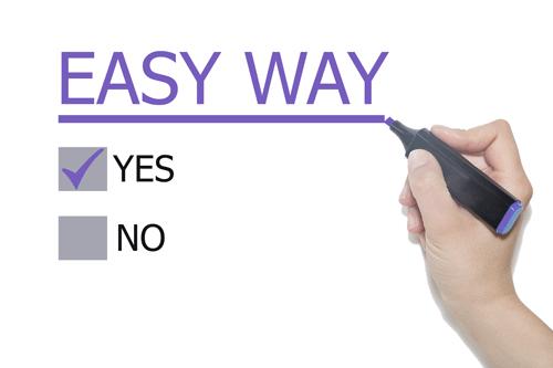 easy way